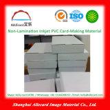 Documento della scheda A4 di identificazione del PVC di stampa del getto di inchiostro