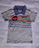 パッチの夏の子供のポロのTシャツとの方法印刷