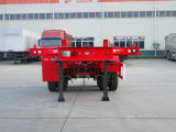 Hubei Dongrun 2 차축 20FT 콘테이너 해골 트레일러