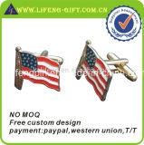 Goupilles bon marché imprimées en gros de drapeau américain
