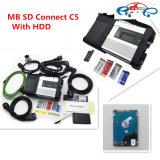 MBの星C5 SD HDDのソフトウェアのWiFiのMulit言語診断のツール