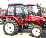 55HP Wheel Type Farm Tratora para Sale (WD554)