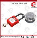 Verrouillage électrique de disjoncteur de sûreté de cadenas d'arrêt d'urgence