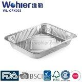 Mayor nivel y envases superventas del papel de aluminio para el alimento