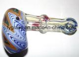 Formes animales fumant la pipe en verre de barboteur