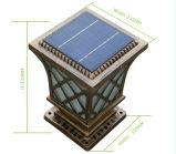 功妙なデザイン容易なインストール防水太陽柱ランプの壁ライト