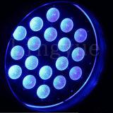 Het Lichte LEIDENE 18X12W RGBW van DJ PARI kan zoemen het Licht van het Stadium