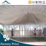 ファブリックStructures 6mx6m White Canvas Sidewall Hang Ceiling Pagoda Tent
