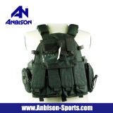 Veste do portador da placa da batida do combate de Molle dos Anbison-Esportes