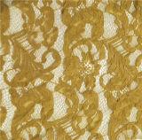 Ткань Organdy вышивает шнурку хлопка вышивки шнурка ткани