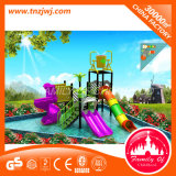 Diapositiva de agua de la fibra de vidrio del parque del agua del paraíso de la hospitalidad de los niños
