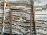 Lastre bianche del travertino del Brown del Onyx del travertino del Onyx