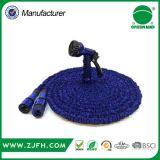 Manguera de jardín mágica extensible azul de la joyería rápida plástica más fuerte del conectador