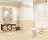 Mattonelle di marmo bianche della parete del pozzo di vendita di disegno del getto di inchiostro semplice