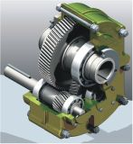 TXT (SMRY) Shaft Mounted Reducer with Strong Alloy Materials for High Load Capacity