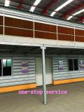 Garniture de refroidissement de Customerized dans la ferme avec la Chambre préfabriquée de coût bas