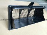 Matériel personnalisé de ferme avicole pour le grilleur avec la Chambre préfabriquée de structure métallique