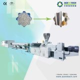 Boudineuse à vis deux conique pour la production de pipe d'UPVC/MPVC/CPVC