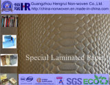 Embossed luxuoso Wrapping Paper/Art Paper para Gift Box & Paper Bag Use (no. A8Y006)