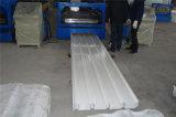 Rolo usado frio ondulado da telhadura da parede que dá forma à máquina