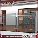 Pasamano de cristal del pórtico interior del diseño (DMS-B2117)