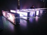 Tela ao ar livre do vídeo do diodo emissor de luz da parte superior do táxi da cor cheia de Qichuang P3