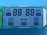 Écran LCD de coutume de segment de Tn 7 de chiffres