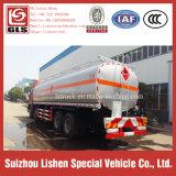 Camion di consegna di olio combustibile di trasporto della benzina di memoria di petrolio del camion di nave cisterna del combustibile di Auman 8*4 Petro Bowser