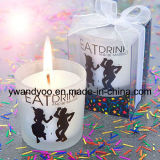 Basim及びヒマラヤスギの贅沢な大豆の蝋燭