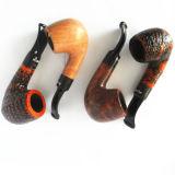 Neuheit-antike Tabak-Rohr-haltbare hölzerne Pfeife
