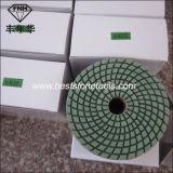 Wd-4는 유연한 닦는 패드 나선형을 그렸다 돌 닦는 패드 (80/100/125X3.3mm)를 위한