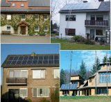 Sistema eléctrico solar caliente de la venta 6kw para el hogar