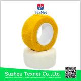 Bandage auto-adhésif élastique coloré de coton
