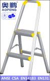 Telescopische Ladder van het Aluminium van de Uitbreiding van de Kruk van de Stap van het Huishouden van het staal de Uiteindelijke (ap-2202)