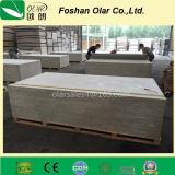 Material de construção do painel de parede da divisória do cimento da fibra da placa do cimento