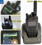 Radio di VHF bassa convenzionale di Dmr /P25 Tunking /P25, sistema multiplo di sostegno P25 della radio P25