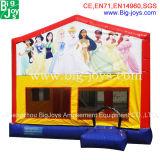 Fábrica direta 0,5 mm PVC Material inflável Princess Castle Inflável Bouncers para venda Inflável Jump Castle para venda