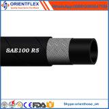 Mangueira hidráulica de borracha da câmara de ar SAE100 R5