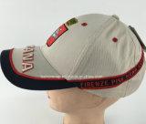 고전적인 구성된 자수에 의하여 괴롭혀지는 야구 모자
