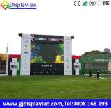 Visualización de LED al aire libre del estadio de fútbol P10 para hacer publicidad del panel