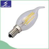 lâmpada de filamento do diodo emissor de luz de 4W 6W 8W 85-265V