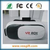 Коробка Vr стекел Vr стекел 3D фабрики сразу цветастая, фактически реальность
