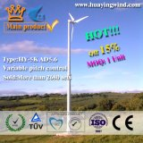 Family 를 사용하는을%s 5kw Small Wind Turbine Generator