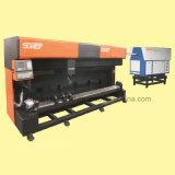 Rond et plat mourir la machine de découpage en bois de laser de panneau pour industriel en bois