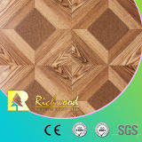 8.3mm E1 AC3 HDF Woodgrain Texture Teak Wood Laminated Flooring