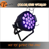 Iluminación 18X17W color UV LED Night Club