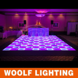 Nuevo color de la manera 2016 que cambia la danza iluminada recargable Floor/LED Dance Floor del LED