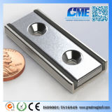 "N42 F4.50""X1.50""X0.5"" Magnetic Assembly Rectangular Neodymium Magnet"