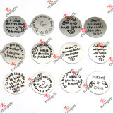 Runder Edelstahl Plates für Window Living Locket Design Plates (SSP102-162)