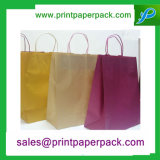 Sac de sac à main en papier Kraft standard à prix bas